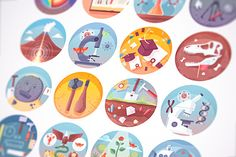 Download Education and science flat icons set @creativework247
