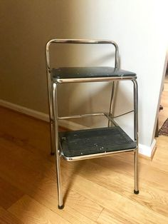 Vintage Cosco Bar Step Stool Picked Vintage Kitchen