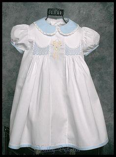 Heirloom sewing easter dresses | Ella's Easter Dress