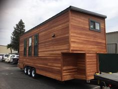 This 10-foot wide by 24-foot long custom tiny house was built by California Tiny House for their clients in Santa Cruz County, CA.