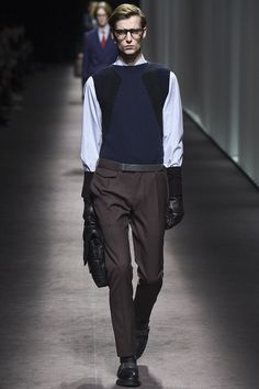 Canali Fall 2016 Menswear Fashion Show