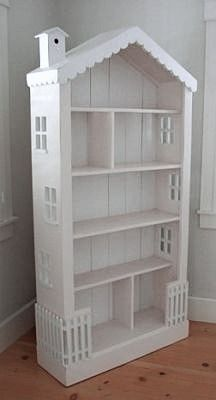 Bookshelf Turned Dollhouse
