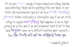 elizabeth gilbert quotes | Posted by Margaret of York at 7:51 AM 0comments