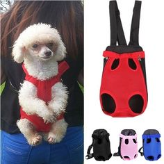 Nylon Pet Puppy Dog Carrier Backpack Front Net Bag Tote Carrier Sling Bag For Do. Nylon Pet Puppy Dog Carrier Backpack Front Net Bag Tote Carrier Sling Bag For Dogs Cats Soft Pet Carrier, Puppy Carrier, Cat Carrier, Sling Carrier, Portable Dog Kennels, Wooden Dog Kennels, Diy Dog Kennel, Nylons, Pet Puppy