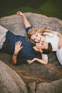 Engagement pictures in summer, prescott az.