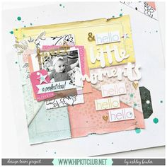 Not into too much mixed media? Add just a hint of it like designer @ashleylaurabu has softly done. Ashley used the #december2016 #hipkits to complete her beautiful layout! @hipkitclub #hkcexclusives #exclusives #hipkitexclusives @pinkpaislee @paigetaylorevans #takemeaway @shimmerzpaints #mist #mixedmedia #hipkitclub #papercrafting #kitclub #kits #scrapbookingkitclub #patterns