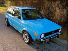 For Sale: '77 Rabbit w/ 24valve VR6. Corrado steelies, stock appearance - until you hit the angry pedal.
