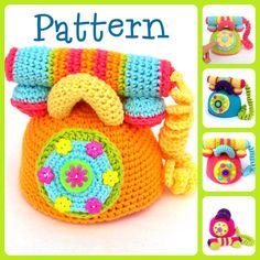 #Crochet #Telephone #Pattern