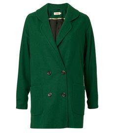 Un manteau vert sapin