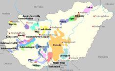 Wine Maps- Hungary
