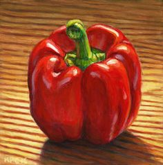 Red Pepper by Kenneth Cobb