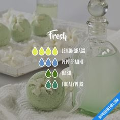 Fresh — Essential Oil Diffuser Blend