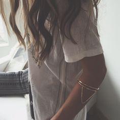 Triangle Arm Cuff - Handmade Jewelry - Arm Cuffs