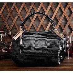 women's Genuine Leather The Crocodile Grain High-Grade Tote - GBP £ 21.72
