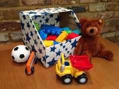 2 Littlefaces: DIY Toy Storage Bin
