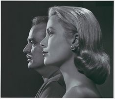 Princess Grace (Kelly) and Prince Rainer of Monaco