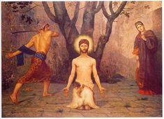 The Beheading of St. John the Baptist (Pierre Puvis de Chavannes - 1869)