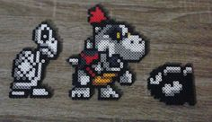 Super Mario Dungeon Enemies Perler Beads