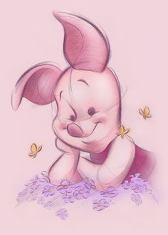 Piglet Is The Most Cutest Plush Pig Ever.