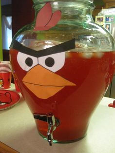 Nathan's Angry Bird-Day Party   CatchMyParty.com
