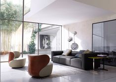 Bao Sessel - Loungesessel von Walter Knoll | ARCHITONIC