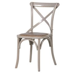 An elegant crossed back chair that works very well all around the home; looking amazing with our beautiful dining tables from this stunning range but also can be used as a fabulous piece of bedroom or hallway furniture.