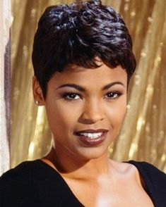 Black Hairstyles Short simple hair cut of short hairstyles Find This Pin And More On Short And Sweethairstyles By Akbanks426