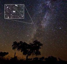Fotografían por casualidad el nacimiento de una estrella