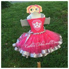 Paw patrol costume Skye tutu dress Paw by CaitlinsTutusandBows Paw Patrol Fancy Dress, Sky Paw Patrol Costume, Paw Patrol Party, Halloween Town, Halloween Costumes For Kids, Paw Patrol Disfraz, Skye Costume, Toys For Girls, Girl Toys