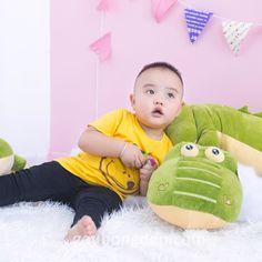 Chúc mọi người đầu tuần vui vẻ  Cá sấu bông:  Size 60cm - 260k -10% 234k  Size 80cm - 350k -10% 315k  Size 1m - 480k -10% 432k  0932793907  416/15/85A Dương Quảng Hàm P.5 Gò Vấp #casau #hcm #baby #cute #dautuan #gaubongdep