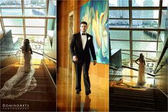 Ari picked a black #tuxedo designed by @Ralph Lauren. #Wedding picture by #DominoArts #Photography (www.DominoArts.com)
