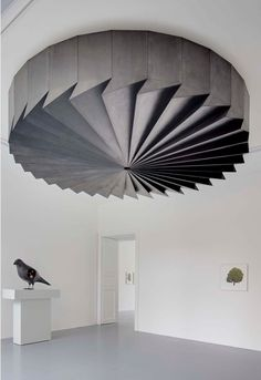 """KAGADATO selection. The best in the world. Installation. **************************************""""L'Oiseau"""" / """"La Turbine"""" / """"Arbre n°2""""  XAVIER VEILHAN  """"Orchestra"""" in 2011 at Galerie Perrotin Paris"""