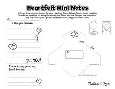 Valentine's Day FREE Printable - Heartfelt Mini Notes
