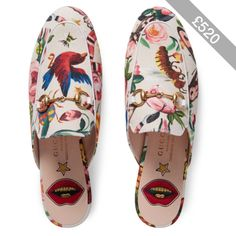 Gucci Garden Exclusive Princetown Slipper