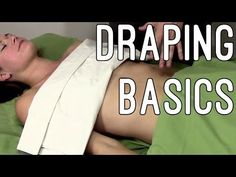 Massage Tutorial: Draping quickly and securely (even glutes and abs!)