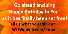 You can now legally sing Happy Birthday all you want! Did you know that it was copyrighted???