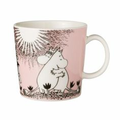 Moomin love. (My neighbors from Sweden have these cups. I love to sip from them.)