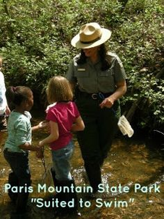 Paris Mountain State Park: Fourth Saturday programs are great for families to enjoy nature while learning!