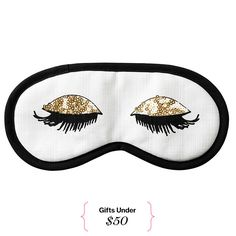 Affordable Holiday Gifts: 50 Presents Under $50--For the Sleepy Beauty Thanks to you, she can channel her inner Holly Golightly and catch those zzz's in style.Eye mask, $7, hm.com   3      1