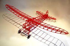 UK designer creates a printed RC plane using 3d Drawing Pen, 3d Drawings, Impression 3d, 3d Doodle Pen, Pen Doodles, Boli 3d, 3 D, Stylo 3d, 3d Printer Designs