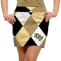 Womens Made-To-Order Skorts by Loudmouth Golf - UCF Knights.  Buy it @ ReadyGolf.com