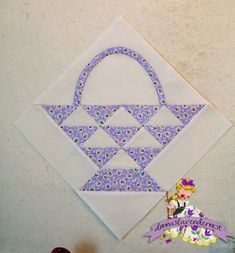Donna's Lavender Nest: 12 inch Cherry Basket Block FREE Tutorial