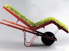 Living Lawn Chaise - Deger-Cengiz via @Pierre-Arnaud Gillet