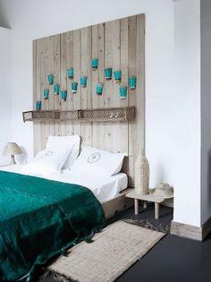 kreative deko ideen schlafzimmer mit diy kopfteil aus - Masterschlafzimmerdesignplne