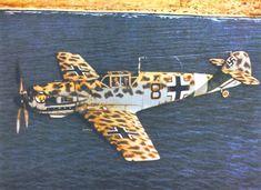 Bf 109E7Trop 8.JG27 (B8+) Elles Libya 1941