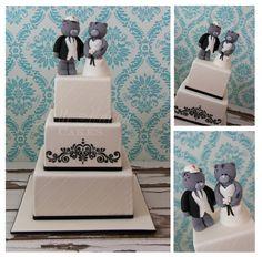 Me To You Bears Wedding Cake