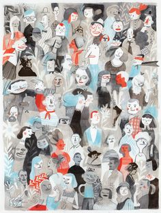 Isabelle Arsenault, isabellearsenault.com. (Use to talk about portraits/space; Link with Charlotte Solomon)