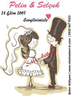 Nikah Şekeri Etiketi #etiket #nikahşekerietiketi #wedding #nikahşekeri