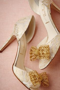 Andalusia dOrsay Heels from BHLDN Moving on:)
