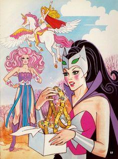 She-ra Princess of Power Catra Spinerella